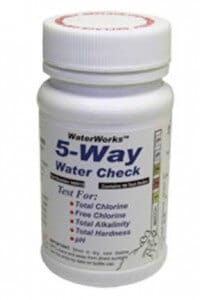 WATER QUALITY TEST STRIPS 5 PARAMETERS