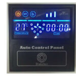 Commercial laundry ozone system control panel