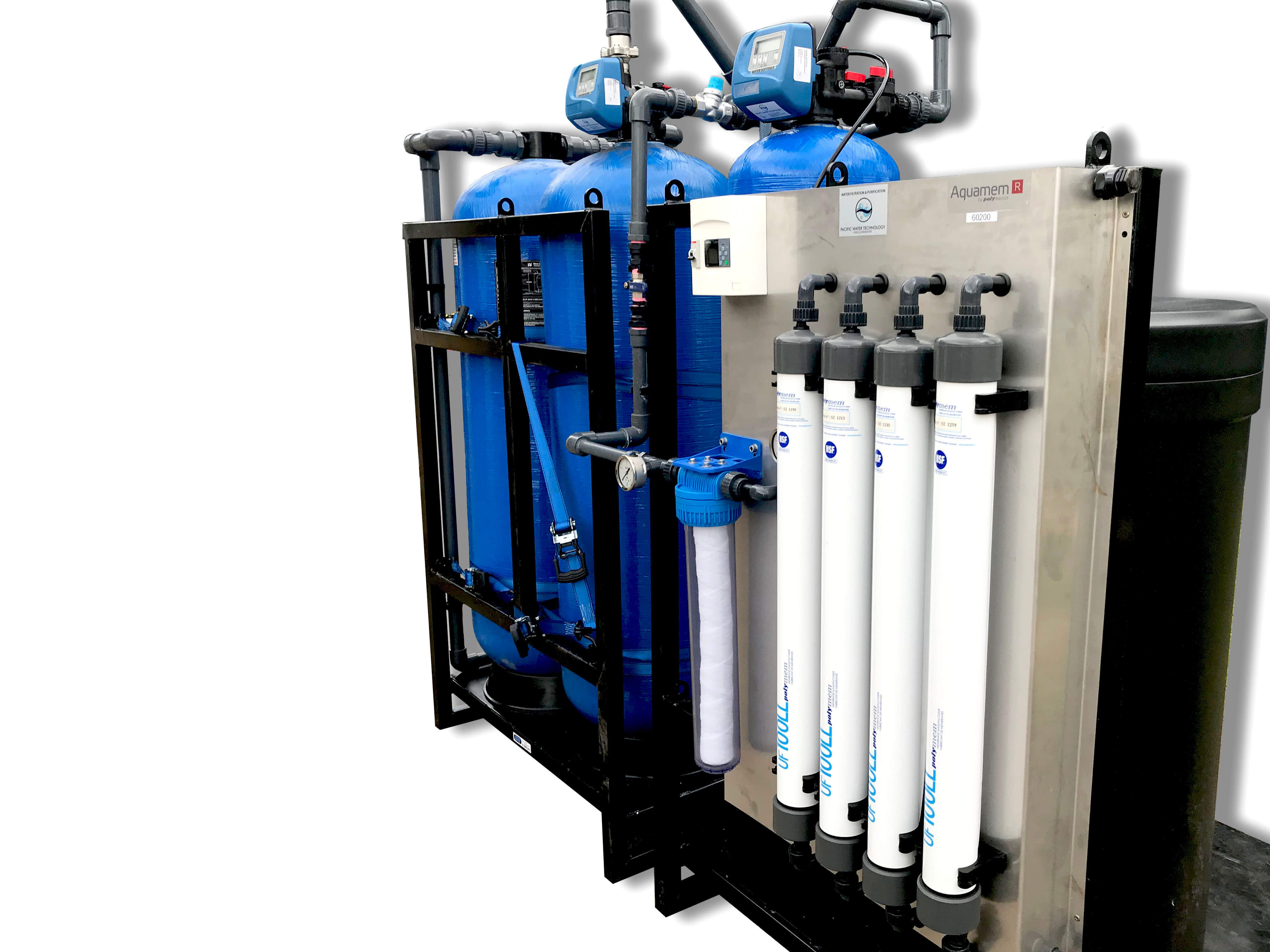 SKID MOUNTED ULTRA FILTRATION SYSTEMS - Pacific Water Technology
