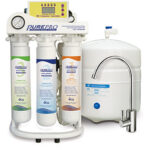 REVERSE OSMOSIS STSEM WITH TDS MONITOR AND DEIONISING FILTER