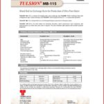 Tulsion Ion Exchange Spec Sheet